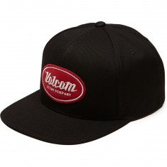 Volcom Cresticle Hat - Black/Red