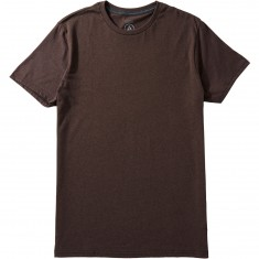 Volcom Heather Solid T-Shirt - Plum Heather
