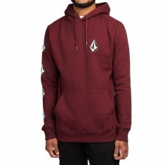 Volcom Supply Stone Hoodie - Dark Port