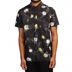 Volcom Jaded And Wilted Shirt - Black