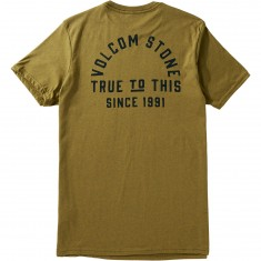 Volcom Stone Co T-Shirt - Light Army
