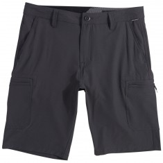 Volcom SNT Dry Cargo Shorts - Charcoal Heather