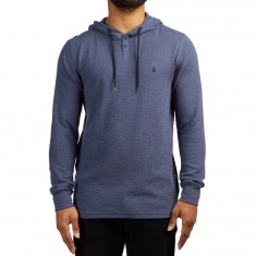 Volcom Murphy Thermal Hoodie - Deep Blue