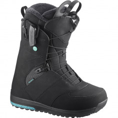 Salomon Womens Ivy 2019 Snowboard Boots - Black