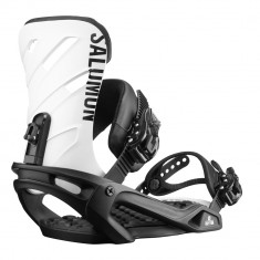 Salomon Womens Rhythm 2019 Snowboard Bindings - Black/White