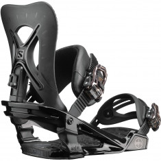 Salomon Womens Nova 2019 Snowboard Bindings - Black