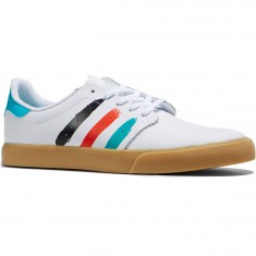 Adidas Seeley Court Shoes - White/Energy Blue