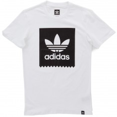 Adidas Blackbird Logo Fill T-Shirt - White/Black