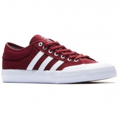 Adidas Matchcourt Shoes - Burgundy/White/Gum