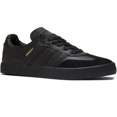 Adidas Busenitz Vulc Samba Edition Shoes - Black/Black/Solid Grey - 13.0