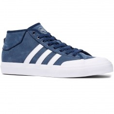 Adidas Matchcourt Mid Shoes - Navy/White/White