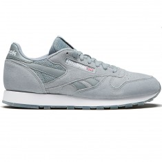 Reebok Classic Leather NM Shoes - Flint Grey/White