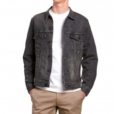 Levi's Type 2 Denim Trucker Jacket - Black Battery
