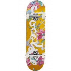 Chocolate Berle Floral Chunk Skateboard Complete - 8.375""