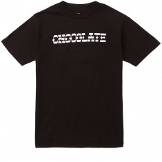 Chocolate Hand Lettered Chocolate T-Shirt - Black