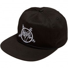 Royal The Royal Metal Snapback Hat - Black