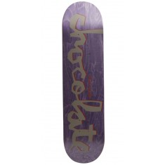 Chocolate Original Chunk Skateboard Deck - Roberts - 7.75""