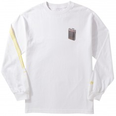 Chocolate Beeper Longsleeve T-Shirt - White