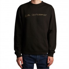 Girl Company Crewneck Sweatshirt - Black