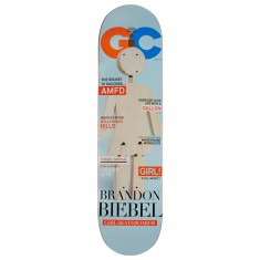 Girl One Off Skateboard Deck - Biebel - 8.00""