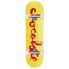 Chocolate Justin Eldridge Original Chunk Skateboard Complete - 8.25""
