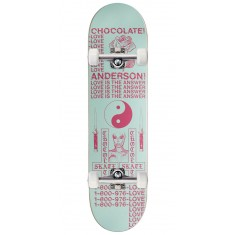 Chocolate Darkside Skateboard Complete - Anderson - 8.125""