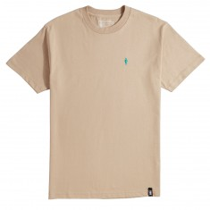 Girl Micro OG Embroidered T-Shirt - Sand