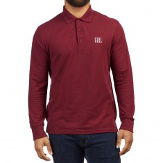 Girl Campus Polo Shirt - Maroon