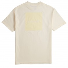 Chocolate Tonal Square Standard T-Shirt - Cream