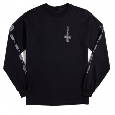 Chocolate Darkside Microchip Long Sleeve T-Shirt - Black