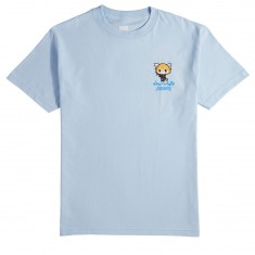 Chocolate X Sanrio Office T-Shirt - Light Blue
