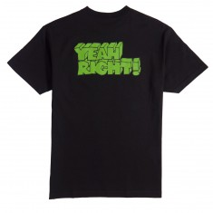 Girl Yeah Right T-Shirt - Black