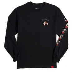 Chocolate Stable Long Sleeve T-Shirt - Black