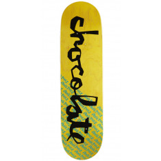 Chocolate Original Chunk Skateboard Deck - Stevie Perez - 8.375""