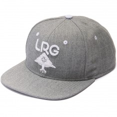 LRG Research Group Snapback Hat - Ash Heather