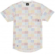 LRG Field Optics Short Sleeve Knit T-Shirt - White