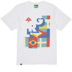 LRG Check And Turn T-Shirt - White