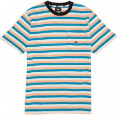 LRG Bondi Knit T-Shirt - Ocean Blue