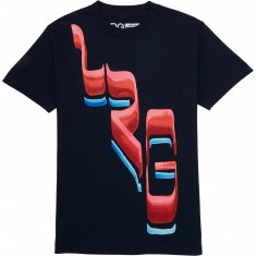 LRG Slanted T-Shirt - Navy