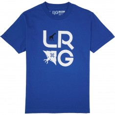 LRG Stacked T-Shirt - Royal