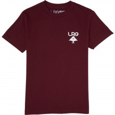 LRG Logo Plus T-Shirt - Burgundy