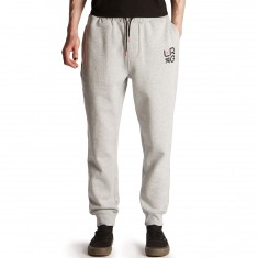 LRG Two Knit Jogger Sweatpants - Ash Heather