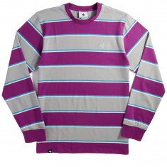 LRG RC Striped Longsleeve T-Shirt - New Purple