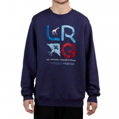 LRG RC Crewneck Sweatshirt - Patriot Blue