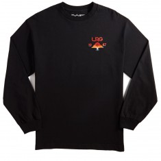 LRG Tree Fade Longlsleeve T-Shirt - Black