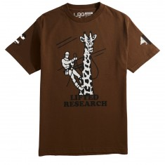 LRG Giraffe Workwear T-Shirt - Coffee