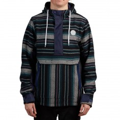 LRG Escobar Poncho Jacket - Patriot Blue