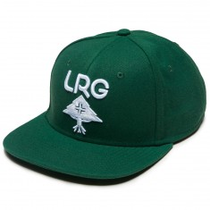 LRG Research Group Snapback Hat - Forest