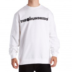 The Hundreds Forever Bar Crewneck Sweatshirt - White
