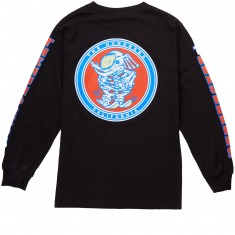 The Hundreds Wooly Long Sleeve T-Shirt - Black